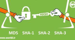 تولید آنلاین هش کد MD5 SHA1 SHA2 SHA3